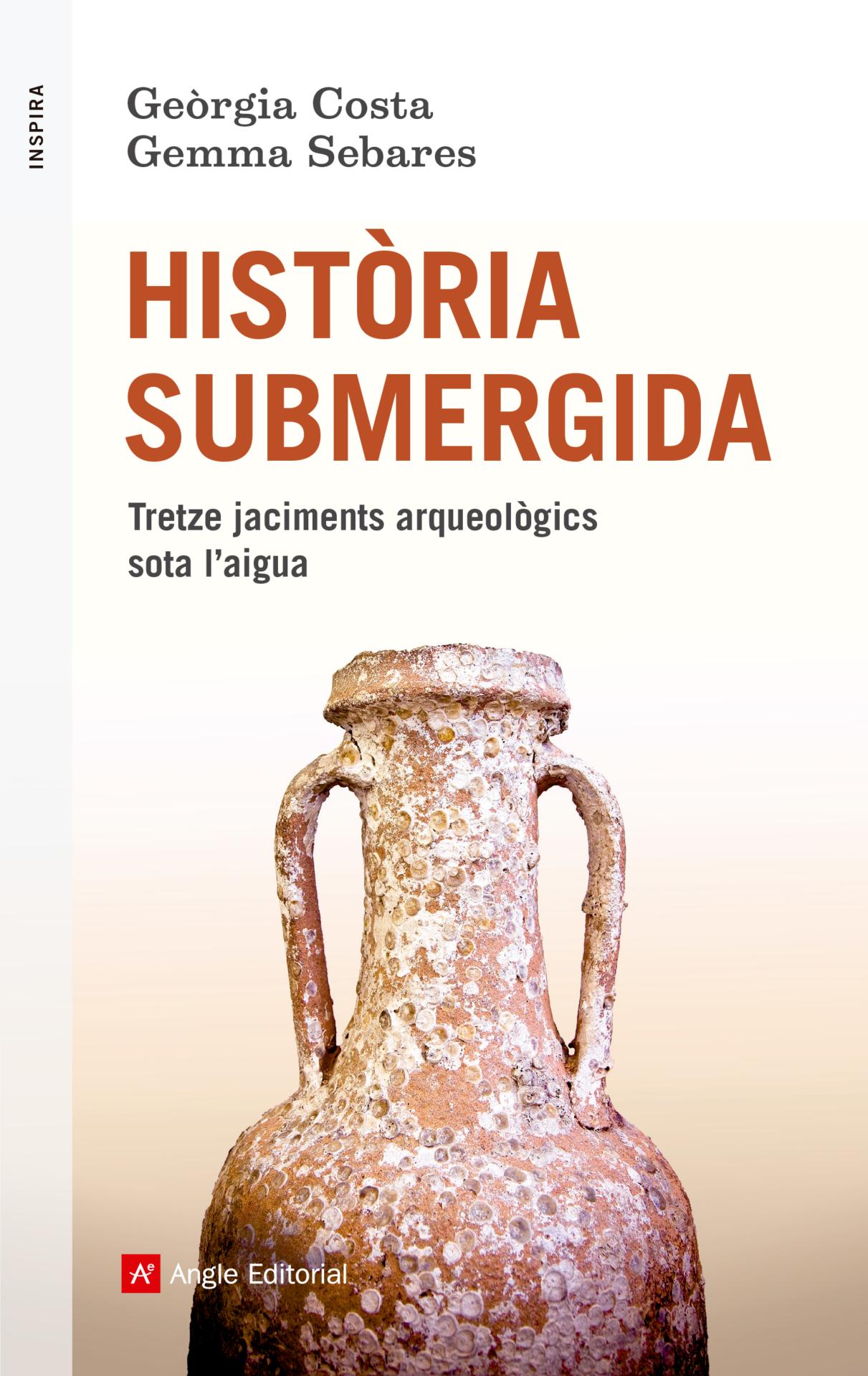 Portada d'Historia Submergida, de Gemma Sabares